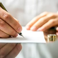 signing divorce papers picture id470492739 The Divorce Process