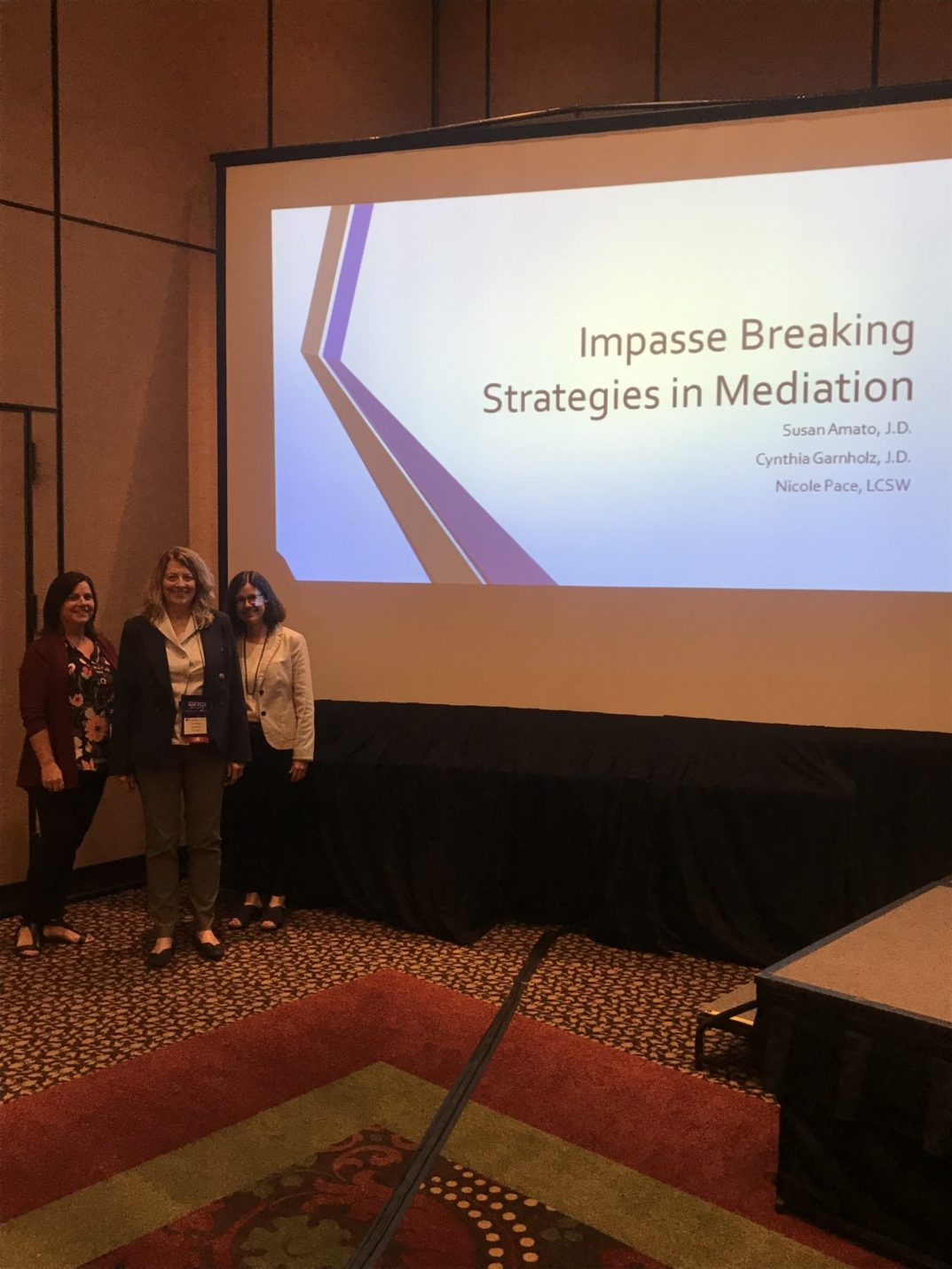 Presentation: Impasse Breaking Strategies in Mediation